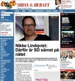 Stort intresse för sverigedemokraternas webbhaveri