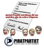 The PirateBay gör reklam för Piratpartiet