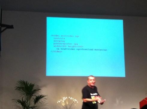 Bruce Lawson och html5 <video>