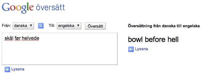 översätt från svenska till engelska