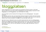 Även Bloggplatsen ägnar sig åt digitalt häleri