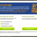 Undvik startproblem med dittforetagonline.se