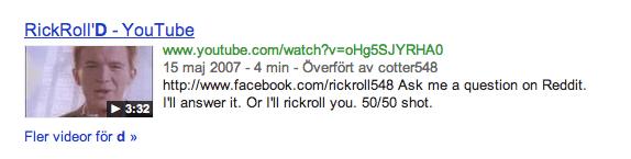RickRoll'D