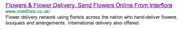 Jäkla tjat om blommor