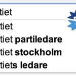 Folkpartiet – Google-resultat