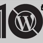 Fira WordPress 10 år!