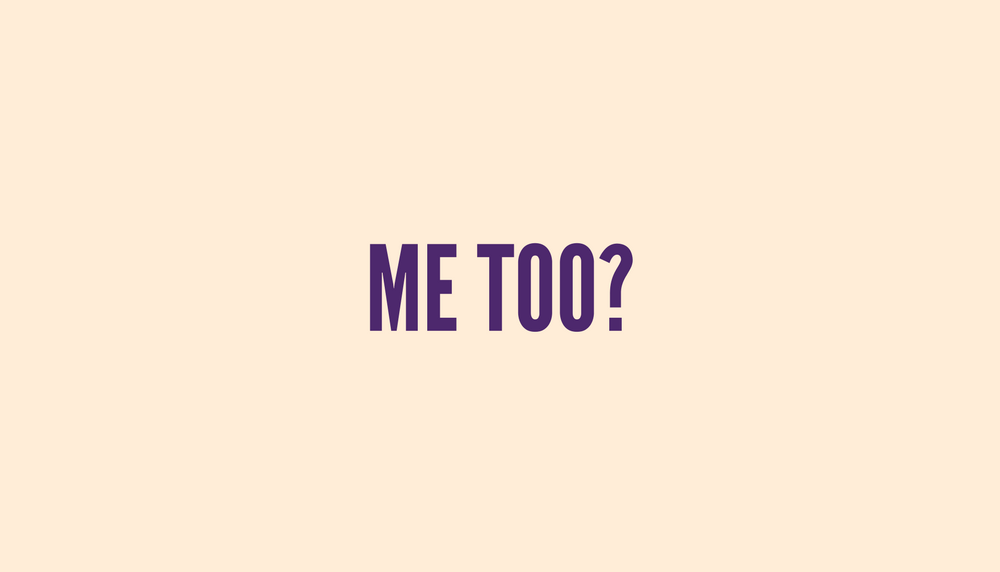 "The ""Me Too"" Viral Status Update Has Me Confused"