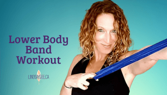 18-Minute Lower Body Band At-Home Workout