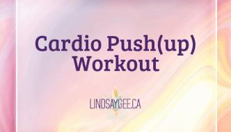 Cardio Push(up) Workout