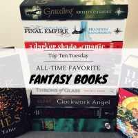 All-Time Favorite Fantasy Books {Top Ten Tuesday}