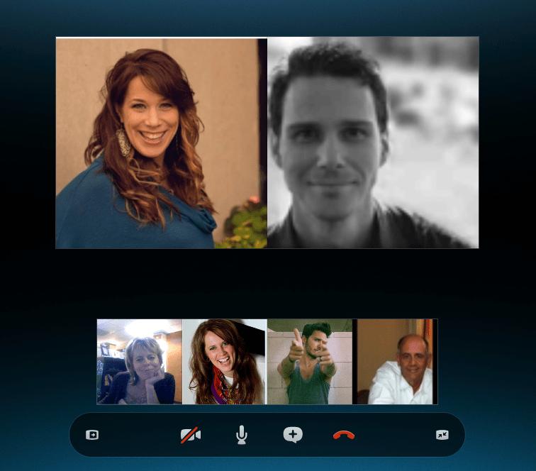 Skype Call with FHBloggers