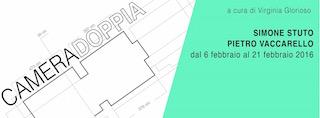 CAMERA DOPPIA #1 – Simone Stuto/Pietro Vaccarello