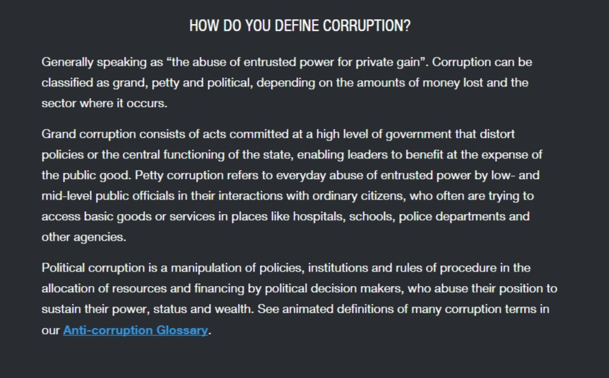 what-is-corruption