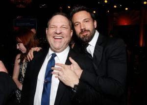 Ben Affleck e Harvey Weinstein