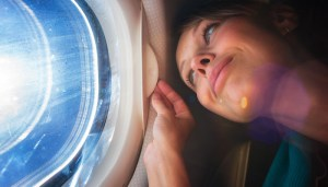 woman-on-airplane