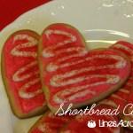 Shortbread Valentine's Day Cookies