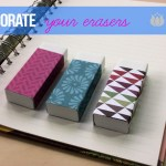 Decorate Your Erasers
