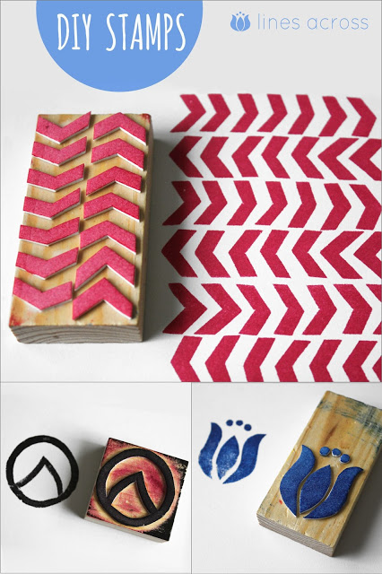 how to make your own rubber stamp