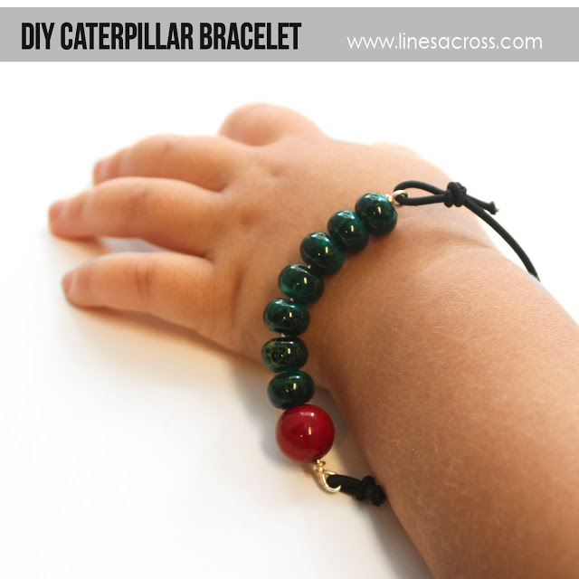 DIY Caterpillar Bracelet