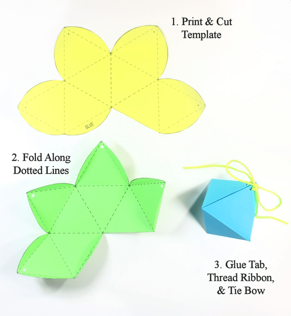 flower tutorial paper kusudama diamond ball by step fold
