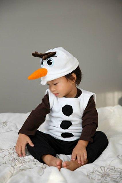 50 diy frozen costumes lines across fleece olaf costume tutorial solutioingenieria Images