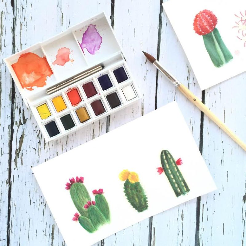 Watercolors for Beginners: Basic Supplies