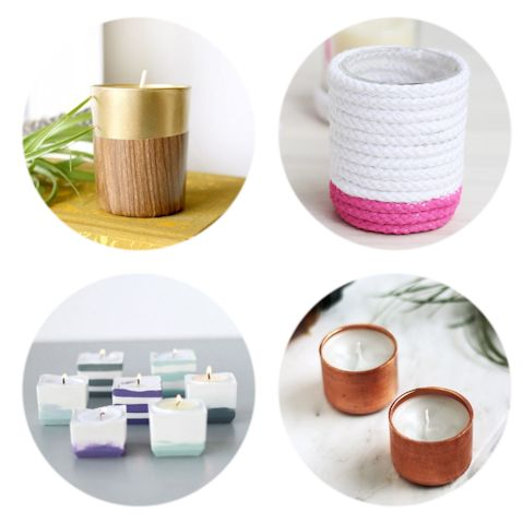10 Modern DIY Candle Holders