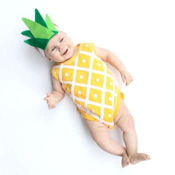 Handmade Pineapple Baby Costume and 88 DIY Costumes