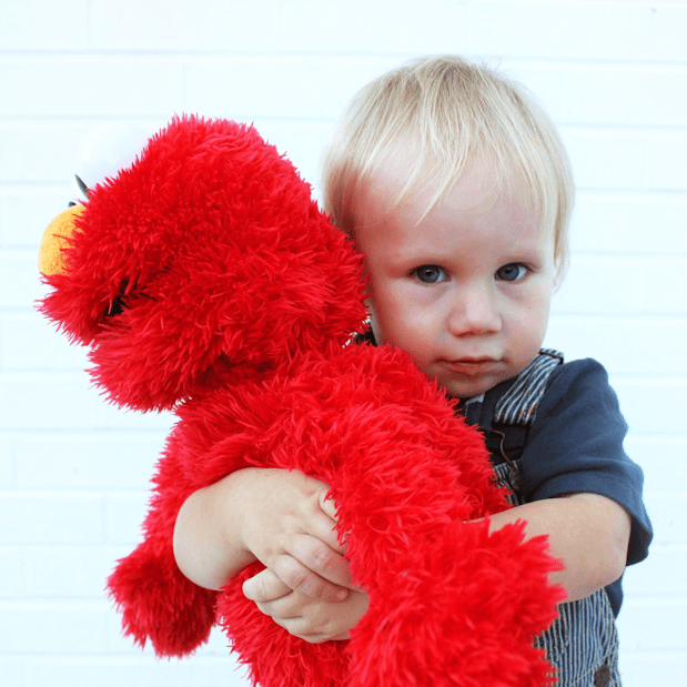 Oliver and Elmo