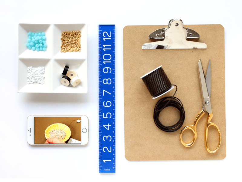 Beaded Wrap Bracelet Supplies