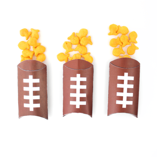 Free Printable Football Pillow Boxes