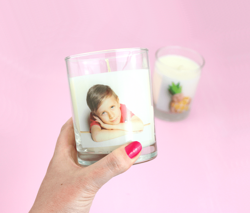 Personalized candles -Shutterfly - Mother's Day - Lines Across