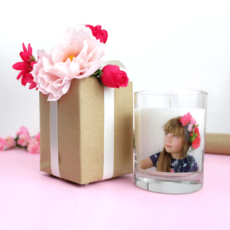 Faux Flowers DIY Gift Toppers