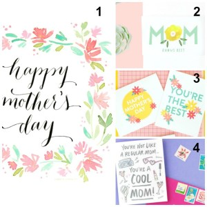 15 Free Printable Mother's Day Cards