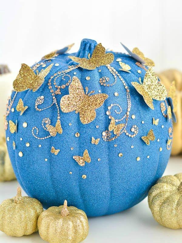 diy-cinderella-butterfly-pumpkin