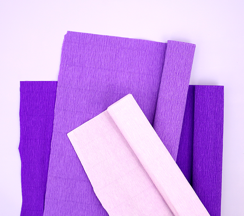 Where to find big rolls of quality crepe paper - perfect for party decorations, banners, and garlands.