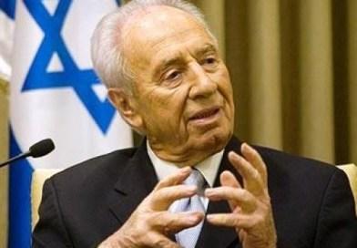 Shimon Peres privo di conoscenza, famigliari al capezzale
