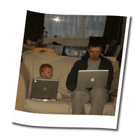 Dad, is the internet down?