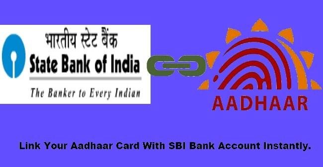 Link Aadhaar Card and SBI Bank Account