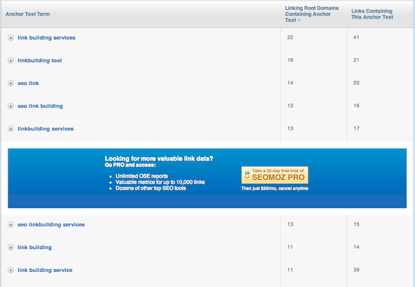 link spam google seo services