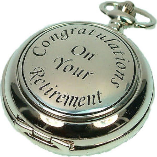Retirement Pocket Watch