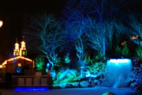 Christmas fairy tale in Liseberg, Gothenburg