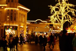 Christmas market in Liseberg, Gothenburg
