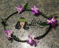 Ti Leaf & Orchids - Lavender