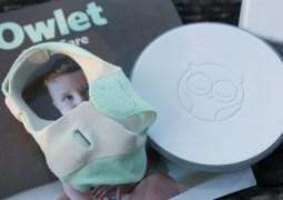 Owlet Monitor - kaos kaki pintar