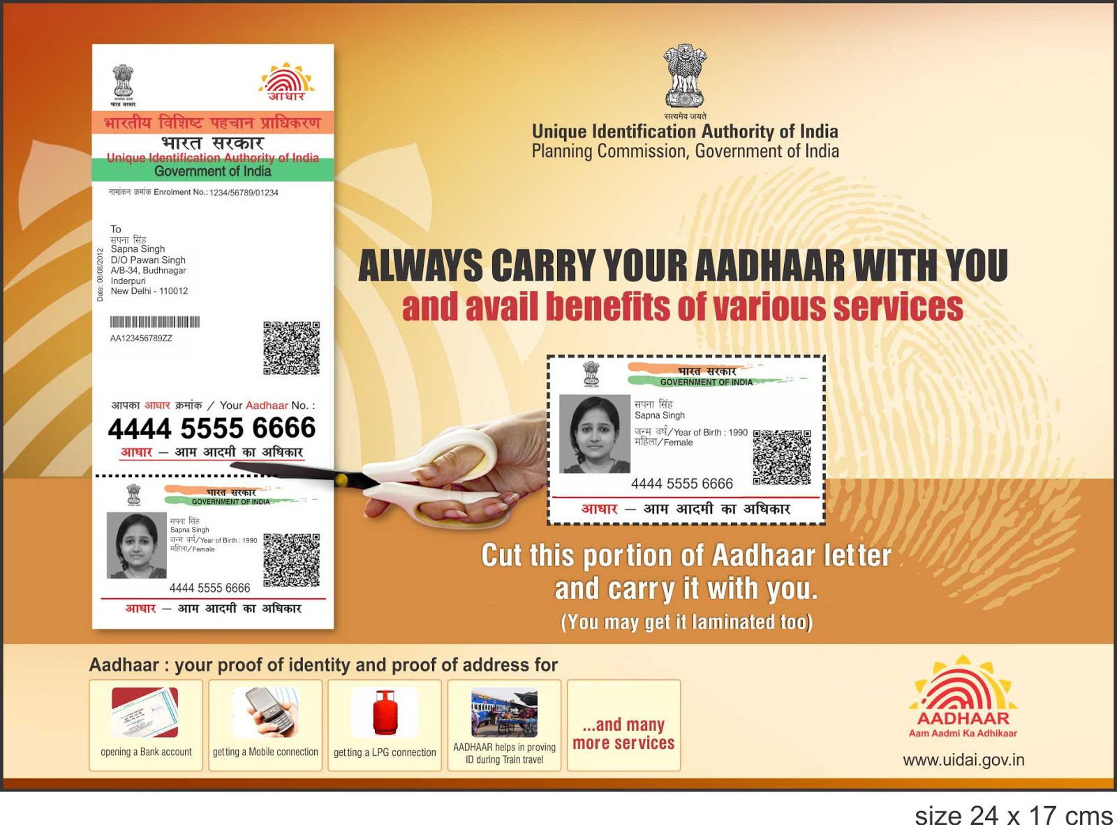 What People Know and Think About Aadhaar Scheme ?