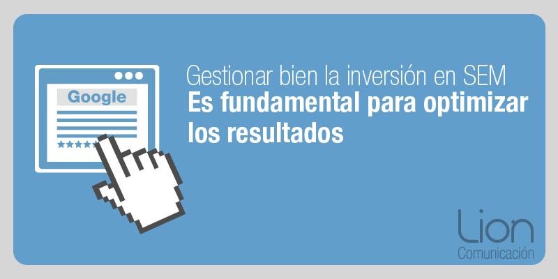 Lion Comunicación: Campañas SEM para buscadores en Zaragoza