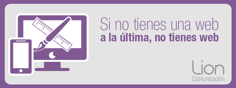 Diseño de páginas web - Lion Comunicación Zaragoza