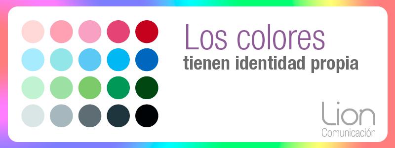 El color en el diseño gráfico y web - Lion Comunicación en Zaragoza
