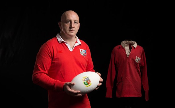 Keith Wood Lions Canterbury